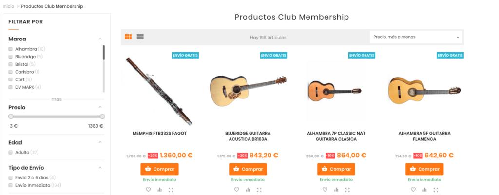 productos club musicopolix