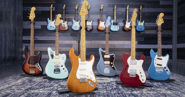 La nueva serie Fender Vintera punto por punto