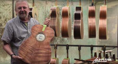 ¿Cómo han llegado a primera liga las guitarras acústicas Larrivee?