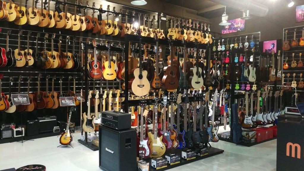 Musicopolix San Sebastián de los Reyes amplía su local hasta los 360 m2