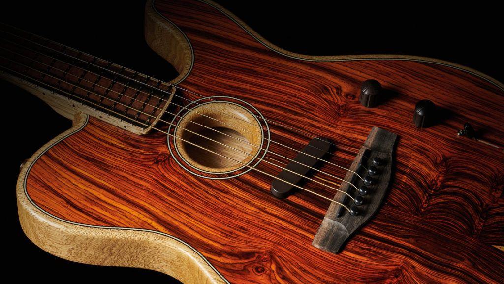 Tenemos la única Fender Acoustasonic Cocobolo en España