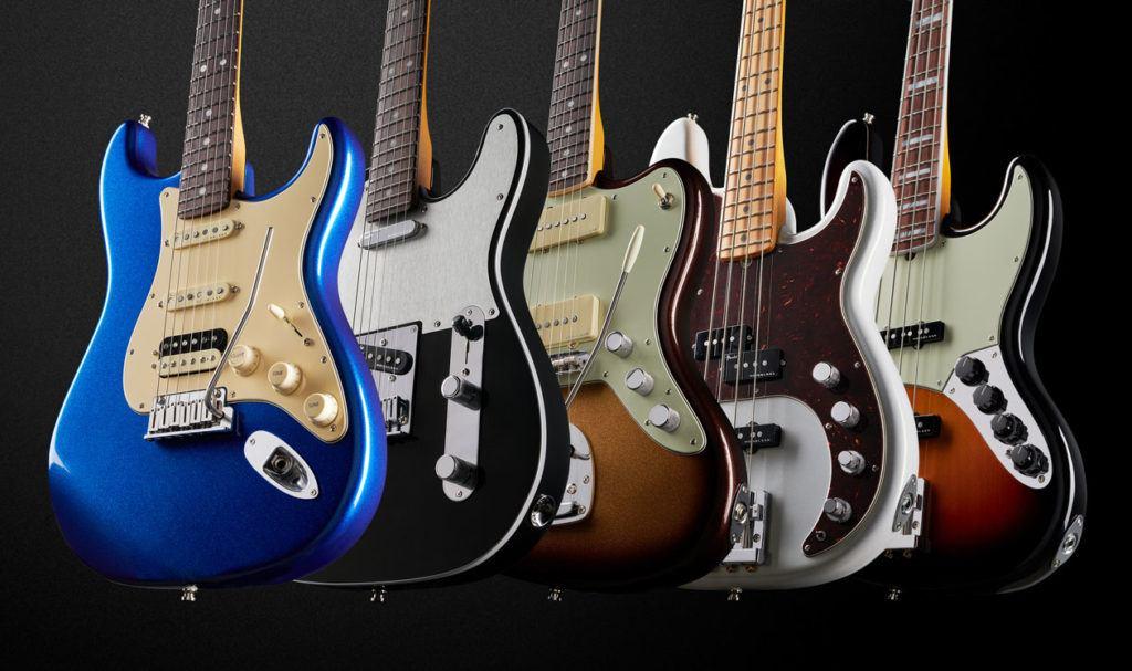 Fender presenta su nueva serie American Ultra