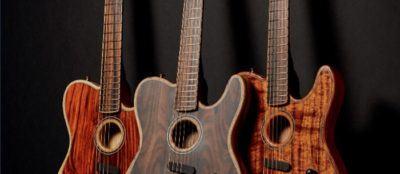 Ojo a estos modelos de Fender Acoustasonic únicos en España