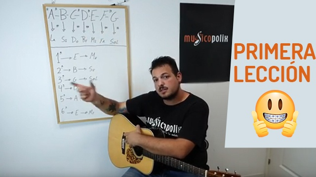 Curso rápido de guitarra para principiantes
