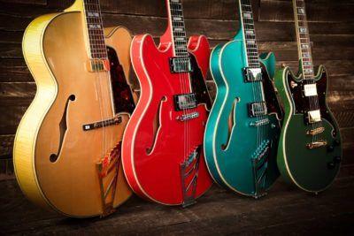 El reconocimiento mundial de las Guitarras DAngelico