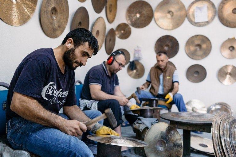 Platos Bosphorus, así son sus maestros artesanos