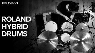Un sonido sin límites. Nuevas baterías híbridas Roland en Musicopolix