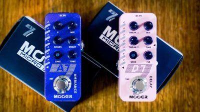 Nuevos diseños, misma calidad de efectos. Nuevos pedales Mooer, ya en Musicopolix.