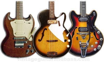 Vintage. Una nueva dimensión de guitarras eléctricas ya disponible en Musicopolix.