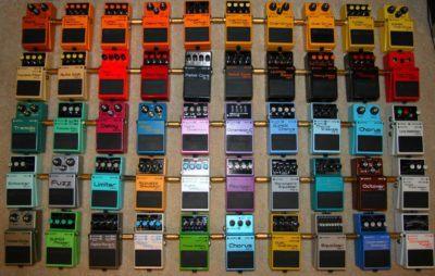 Los clásicos nunca mueren. En Musicopolix te presentamos los mejores pedales Boss.