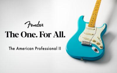 Fender American Professional II. La nueva dimensión de guitarras Fender ya en Musicopolix.