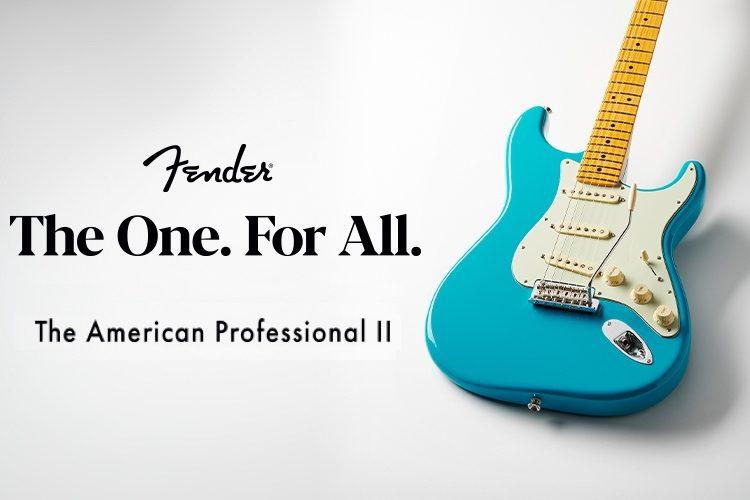 Fender American Professional II portada
