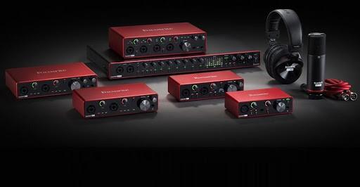 Focusrite. Las interfaces de audio más buscadas en todo el mundo están en Musicopolix.