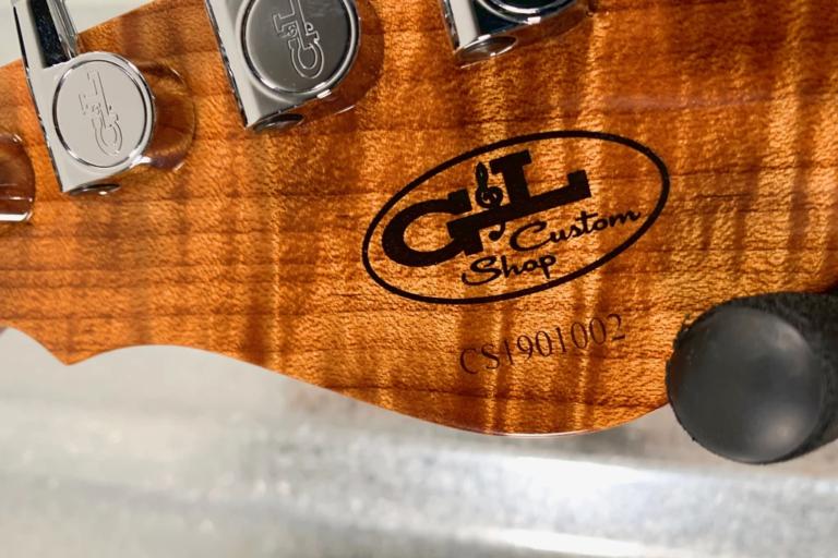 Guitarras G&L Custom Shop Clavijero