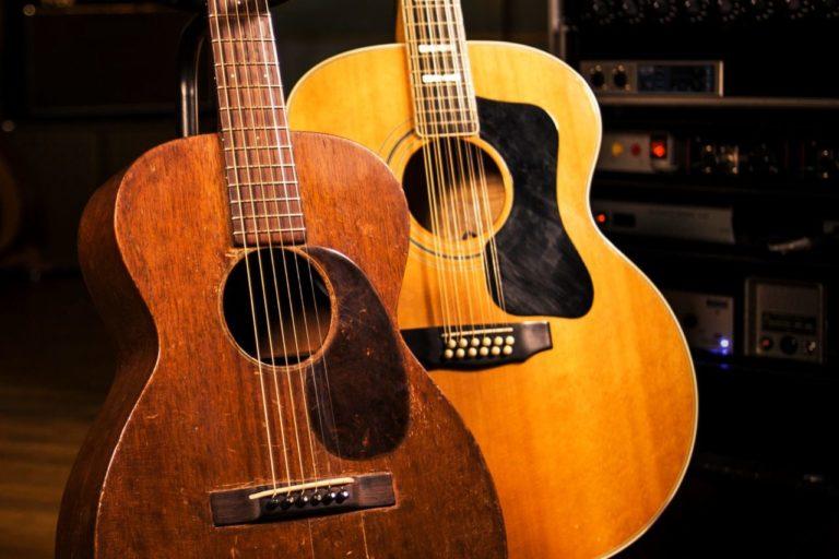 cómo es y cómo suena una guitarra de 12 cuerdas portada