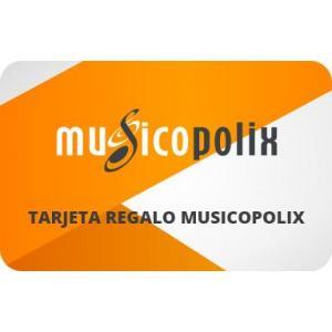 Comprar Tarjetas Regalo | Musicopolix